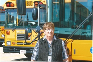 Carlyn Wessel says she started teaching busdriver safety training classes because her best friend was run over by a school bus while the two were in grade school.