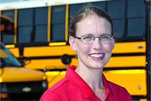 Mary Aufdemberg looks forward to working on engaging with pupil  transportation professionals through social media tools in the future.