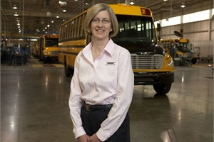 Kelley Platt became president and CEO of Thomas Built Buses in 2010.