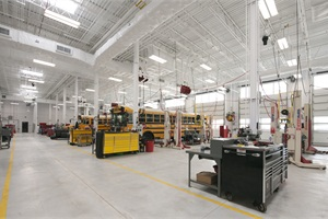 Anderson's leadership was particularly vital as Adams 12 developed and built a new, $20-million transportation facility, which has a variety of features to reduce energy use, such as extra insulation, numerous skylights and heated shop floors.