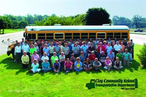 For more than 10 years, Clay Community Schools' transportation department has recycled the old oil from routine oil changes performed on its school buses to heat its bus garage.