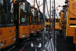 Colton (Calif.) Joint Unified School District was one operation featured in Green Fleets Across America in 2009. Fifty route buses are powered by CNG.
