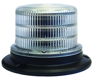 SoundOff Commercial Vehicle Products now offers a new line of competitively priced LED beacons, including the 4300 Series low-dome beacon shown here.