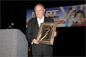 SBF Publisher Emeritus Frank Di Giacomo was recognized with the NAPT Distinguished Service award. He has been the publisher of the magazine since 1991.