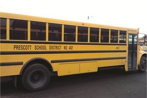 In addition to paying a significantly lower shop rate, Prescott School District gets same-day service when taking buses in for repairs. As a result, membership in the cooperative has kept the district from having to employ a full-time mechanic.