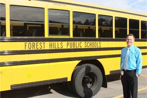 Darryl Hofstra has been Forest Hills Public Schools' supervisor of transportation since 2004, a role he's proud to hold. He says it is a premier district in the Grand Rapids area and in the state of Michigan.