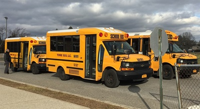 Patchogue-Medford (N.Y.) School District's transportation department currently transports 58 homeless students inside and outside the district.