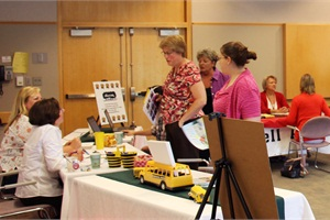 More than 175 prospective school bus drivers and attendants took part in a job fair in Grand Rapids, Michigan, in July. Thirteen operations participated in the fair, which was held at Kent ISD.
