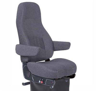 CVG's Routemaster 350 Mordura cloth seat features a five-way adjustable seat cushion and adjustable air lumbar support.