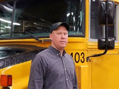 """Jason Johnson says that the shortage of people qualified to work as technicians makes the need for training all the more urgent. """"We want to make sure all new mechanics in the state have training at their fingertips."""""""