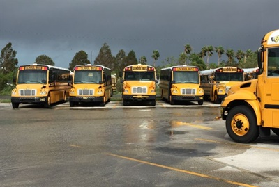 Next school year, Brevard Public Schools will add 35 buses for the reinstatement of transportation to schools of choice. Fortunately, the district's fleet wasn't damaged by Hurricane Irma last fall.
