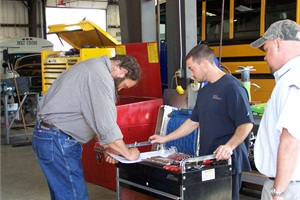 Topics covered in this school bus maintenance quiz include valve timing, air brakes and hard starting.