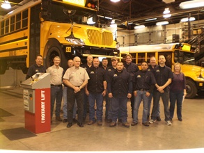 Frisco Independent School District's maintenance team uses green initiatives and years of industry experience to maintain their fleet of 201 buses.