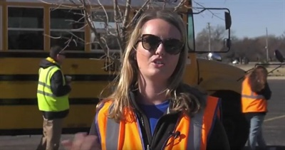 In a video from Wichita Public Schools, a First Student training manager explains what it takes to become a school bus driver as the local operation looks to bring new recruits on board.