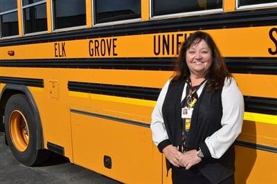 Director of Transportation Jill Gayaldo started her career in the industry 30 years ago as a transportation secretary.