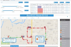EduTracker, combined with EDULOG's Student Tracking software program, provides quick notification if a student boards the wrong bus or gets off at the wrong stop.