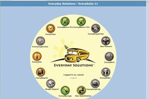 The ESI Total Solution for School Transportation Management includes GPS tracking that incorporates proprietary bus movement algorithms.