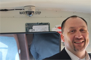 Jacob Iverson of Lake Pend Oreille School District No. 84 in Sandpoint, Idaho, says Seon's video surveillance solutions helped to protect the reputation of a 25-year bus driver following an alleged incident.