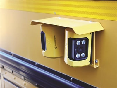 The Student Protector from Gatekeeperincludes a 10 megapixel camera system that can record license plates at high speeds in daytime or nighttime lighting conditions.