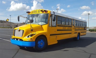 Since the beginning of the 2017-18 school year, Twin Rivers (Calif.) School District's eight eLions have run between 50 and 70 miles per day, with plenty of power left at the end of a route.