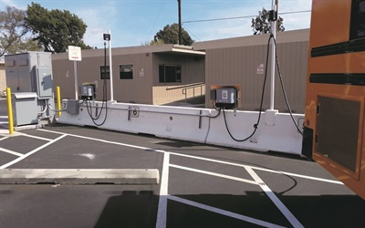 Bellflower (Calif.) USD worked with local utility provider Southern California Edison to install its charging infrastructure after receiving grant funding from the California Air Resources Board.