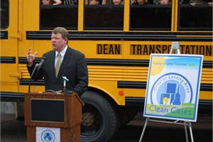Kellie Dean, president of Dean Transportation, talks about thecompany's partnership with Greater Lansing Area Clean Cities.
