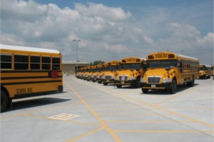 Dickinson ISD operates 28 propane-powered school buses and plans to add more to its fleet in the future.