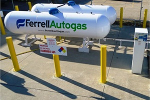 Nathan Ediger, autogas sales manager for propane provider Ferrellgas, says that one of the most important factors in installing a fueling station is establishing the proper size and location of the equipment