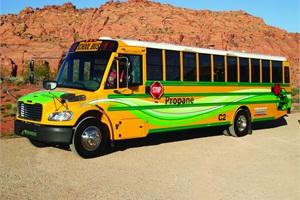 Thomas Built Buses' new propane-powered Saf-T-Liner C2.