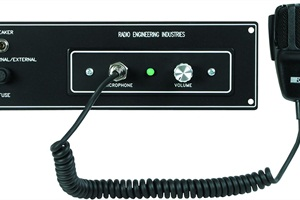 REI offers a widevariety of PA systems,ranging from its basic Panel Mount models to its 760928 model (pictured), with features such as an external PA, as well as the ability to immediately switch from radio mode to PA mode.
