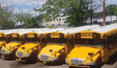 With 175 school buses and a handful of vans and motorcoaches, Villani Bus Co. serves dozens of school districts.