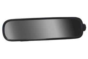 Tiger Mirror Corp.'s new rearview mirror for large school buses features a 6-inch by 24-inch convex, safety-tempered glass lens that is designed to enhance the driver's ability to see students seated behind him or her in the bus.