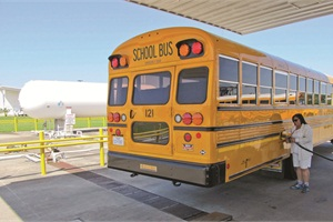 Clean, shining buses reflect well on the transportation department.