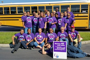 A recent issue of the Seminole transportation department's newsletter featured photos from Relay for Life fundraising efforts.