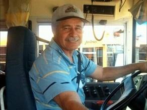 Student Transporter Juan Ramirez.