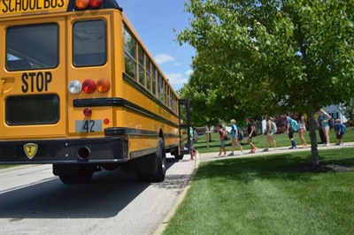 "School bus drivers should get a regular dose of ""back-to-basics"" lessons that are critical to safety and performance. Photo courtesy School Bus Safety Co."