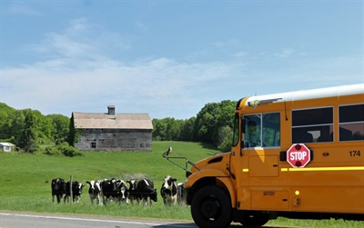 Chuck Barss of Schuylerville (N.Y.) Central Schools was one of the winners in the 2018 SBF Photo Contest with this peaceful pastoral scene.