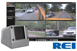 REI's high-resolution stop-arm camera captures the license plate info of stop-arm violators. Its day/night setting provides optimum viewing of the license plate.