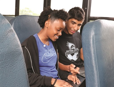 In Missouri, Raytown Quality Schools has implemented a rollout program to provide all its students with Wi-Fi connected devices by the start of the 2019-20 school year. Photo courtesy Raytown Quality Schools