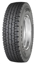 Michelin's XDN2 drive-axle tire provides high levels of traction, making it optimal for difficult winter conditions.