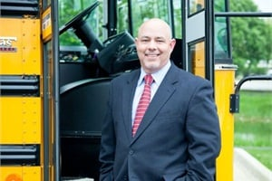 Since becoming CEO of National Express Corp. in 2011, David Duke says the company's safety performance has continued to improve, and employee and customer feedback is positive.