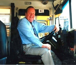 Clifford has a passion for saving money for school districts and for increasing the role of contractors in pupil transportation.