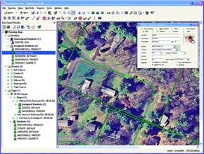Transfinder Corp.'s Routefinder Pro software integrates detailed satellite imagery that displays streets, school locations, roads, trees and hazards to help create accurate routes.