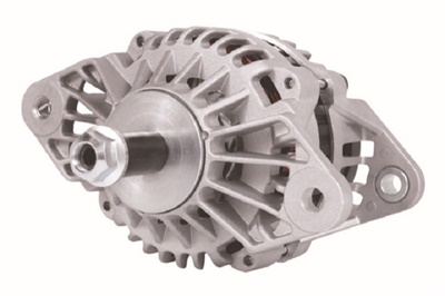 The LoadHandler L24 Alternator provides160-amp output, and also features a dual internal fan design.