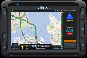 "Zonar's Mike McQuade says that the 2020 telematics tablet provides ""managers with true fleet visibility and drivers with a versatile productivity tool."""