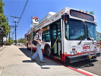 Route 3, which serves Hillcrest, Mission Hills, Balboa Park, Cortez Hill, Gaslamp Quarter, Lincoln Park will get increased frequency from 15 to 12 minutes, and Sunday frequency increased from 60 to 30 minutes.