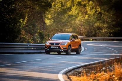 SEAT's new model, the Ateca, will wear Falken-brand tires.