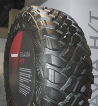 The Travia M/T is being marketed as a Tier 3 (out of four) tire.