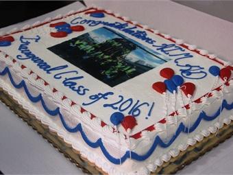 Celebratory cake. Photo: SEPTA