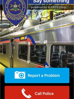 """SEPTA Transit Watch is not just for those with smartphones — people with old-style flip phones can """"Text A Tip"""" and reach SEPTA Transit Police dispatch through a special text message number. Photo: SEPTA"""